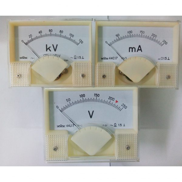 Volt Meter, kV Meter, mA Meter for YZ 200mA and TR 200mA